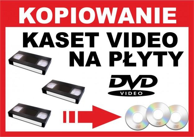 kopiowanie VHS na dvd
